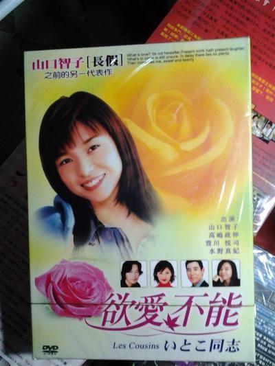 いとこ同志 ~Les Cousins~ (高嶋政伸、山口智子出演) DVD-BOX